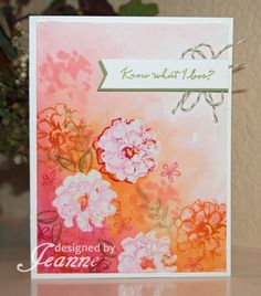 CC566, F4A309 Blooms in Love by Penny627 - Cards and Paper Crafts at Splitcoaststampers