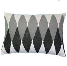 almofada tricot rim losangos - Kasa 57