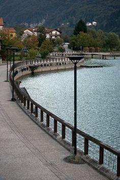 Lago di Barcis, Pordenone, Friuli-Venezia Giulia, Italy