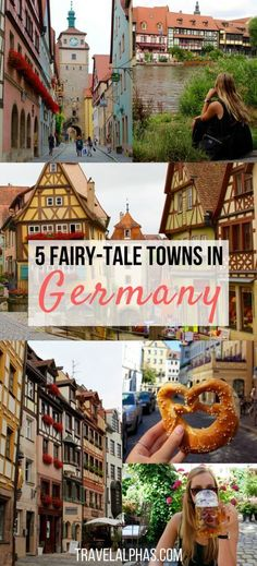 Are you traveling to Germany soon? Looking for some Germany travel inspiration and tips? Here are five of the most picturesque, fairy-tale towns in Germany. These towns will absolutely be a highlight of your trip to Europe. Wondering which towns are pictured here? Regensburg and Rothenburg ob der Tauber are two of them. Click through to find out the other three quaint towns we visited in Germany on our Viking River Cruise. | Buy air tickets: | http://2track.info/Jl1s/