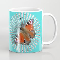 'Peacock Butterfly' @society6  #society6 #style #tshirts #society6mugs #mugs #cups #style #newtshirts #green #moths #beautifulbutterflies #red #blue #kitchenwear #giftideas #papillon #nature #wildlife #butterflies #insects #animals #wings #gifts #motherdaygifts #creatures #butterfly #peacockbutterfly #colorful