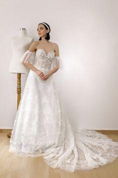 wedding dresses 2018 Noel Collection.MELANIA SS18023