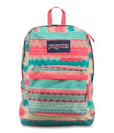 Shop Staples for Jansport Digibreak Backpack, Malt Tan Boho Stripe Mochila Jansport, Rucksack Bag, Laptop Backpack, Backpack Bags, Laptop Bags, Messenger Bags, Striped Backpack, Striped Bags, Purses
