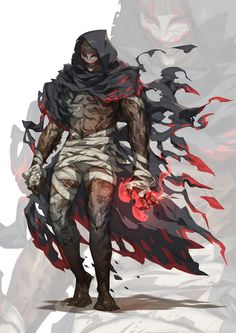 Salafite by ~nJoo on deviantART [ male, undead, monster ]