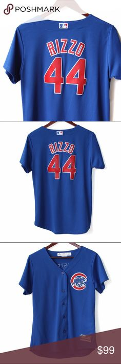 250b62b55 MLB - Chicago Cubs Anthony Rizzo Jersey Worn once, perfect condition!  Women's Chicago Cubs
