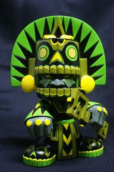 "SpankyStokes.com | Vinyl Toys, Art, Culture, & Everything Inbetween: ""Jungle"" Mictlan from Jesse Hernandez"