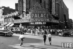 palace theater 1950's albany ny  Where in 1974 I saw Genesis perform The Lamb Lies Down on Broadway