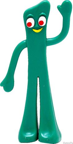 Gumby - Claymation Character at Retro Planet Old Cartoons, Classic Cartoons, 90s Childhood, My Childhood Memories, Retro Toys, Vintage Toys, Gumby And Pokey, Old School Toys, Vintage Cartoon