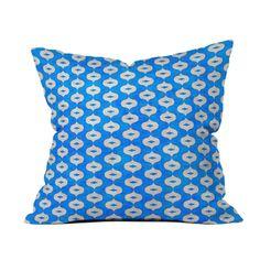 Blue Bazaar Pillow