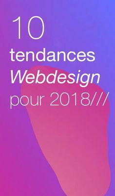 Fin 2017, il est temps de se projeter vers l'avenir... Résonance communication vous présente ici nos 10 Tendances Webdesign pour 2018. ✍️ #webdesign #agenceweb