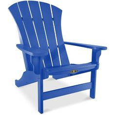 The Hammock Source Sunrise Adirondack Chair ($349) ❤ liked on Polyvore featuring home, outdoors, patio furniture, outdoor chairs, blue, outdoor adirondack chairs, outdoor garden furniture, blue outdoor chairs и adirondack patio furniture