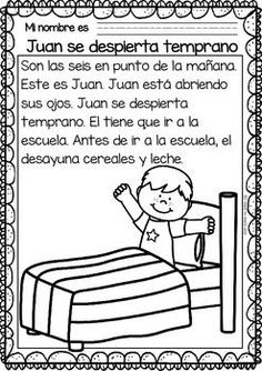 Easy-Reading-for-Reading-Comprehension-in-Spanish-special-edi-Routines-2101114 Teaching Resources - http://TeachersPayTeachers.com