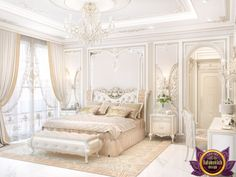Beautiful french bedroom designs ideas (40)