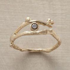 diamond vine ring.