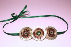 Vintage style embellished hairband. Art deco by SheSellsHeart, £28.00