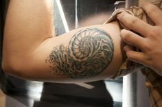 Nautilus Tattoo by Luther Himes IV, via Flickr
