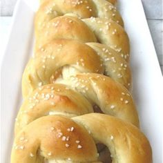 Make your own gluten and grain free pretzels!  You can add some different spices to change the flavors, like some fresh coarsely ground black pepper. Enjoy plain or with your favorite dip.