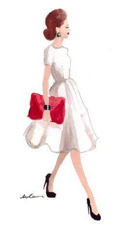 Fashion Sketch Tumblr A R T Pinterest Dress