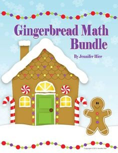 #to complement the story of the Gingerbread Man :)  Lots of great gingerbread math activities for PreK and Kindergarten