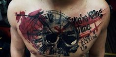 35-Trash-Polka-Tattoo-Designs-10.jpg (600×295)
