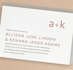 Instant Download  Monogram  DIY Printable Wedding by SwellAndGrand, $25.00