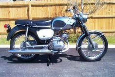 1968 Suzuki B100P