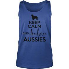 I Love Keep calm and love Alaskan Klee Kai T shirts Cool Tee Shirts, Frog T Shirts, Cool Tees, Blue Merle, Welsh Springer Spaniel, West Highland White, Australian Shepherd, Aussie Shepherd, Hoodies