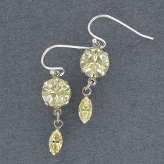 Sadie Green's Swarovski Crystal Earrings