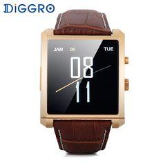 Diggro LF06 Smart Watch Luxury Bluetooth Men Sport Smartwatch  IPS Wristwatch Wearable Device for apple Andriod IOS Phone
