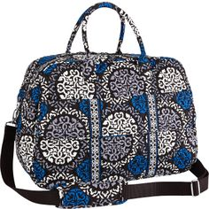 Look at this Canterberry Cobalt Grand Traveler Bag on today! Taylor Gifts, Vera Bradley Patterns, Vera Bradley Handbags, Star Fashion, Travel Style, Travel Bags, Fashion Backpack, Purses And Bags, Shoe Bag