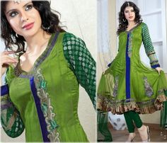 India and Pakistan has launched their latest frocks designs 2014 for women