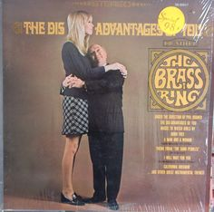 The Brass Ring, The Disadvantages of You, Vintage Record Album, Vinyl LP, Brass Band Music, Instrumental, 1960's Popular Music by VintageCoolRecords on Etsy