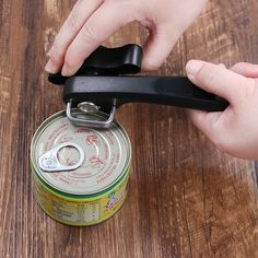 Multifunction Stainless Steel Anti-cutting Safe Opener for Metal Can Kitchen Good Helper Bottle Opener Tool Gadgets Kitchen Tools And Gadgets, Can Opener, Cool Kitchens, Bottle Opener, Canning, Stainless Steel, Bar, Metal, Design