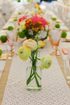 Burlap and Lace Wedding and Party Ideas