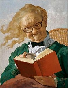 Reading and Art: John Currin✖️More Pins Like This One At FOSTERGINGER @ Pinterest✖️