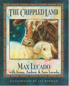 The Crippled Lamb by Max Lucado is a fictitious story that draws from the Nativity story in the Bible. Some people don't like Christian Christmas fiction, because they feel its confusing to kids, but I think this book is clearly a story and not easily confused with the events of the Bible. The illustrations in this book are simply lovely.