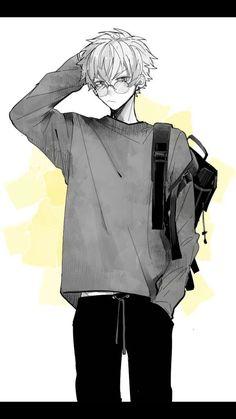 Kaidou shun ~ saiki kusuo no psi nan Hot Anime Boy, Boys Anime, Cute Anime Guys, Anime Cat Boy, Anime Wolf, Female Anime, Anime Demon, Drawing Anime Bodies, Manga Drawing