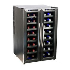 Whynter 32-Bottle Dual Zone Freestanding Wine Cooler-WC-321DD - The Home Depot $360