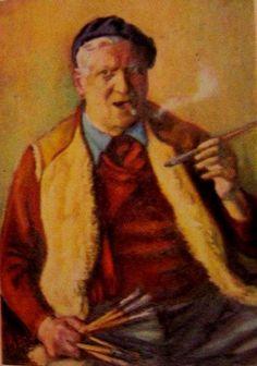 Iser, Iosif (1881-1958) - Self-Portrait by RasMarley, via Flickr