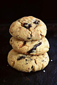 PB + Chocolate + Fleur de sel = Delicious Cookies by Le Petrin, via Flickr