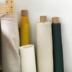 Rolls of linen fabric - Cotton & Flax
