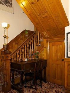 Saratoga Srings Victorian mansion interior