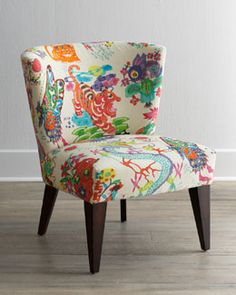 "Massoud ""Chinoiserie Dynasty"" Chair"