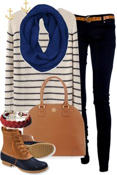sweater, black jeans, and bean boots Preppy Fall, Preppy Look, Preppy Style, Fall Winter Outfits, Autumn Winter Fashion, Preppy Outfits, Cute Outfits, Cute Teacher Outfits, Bean Boots