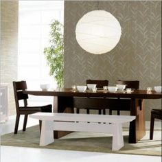 Asian Dining Room Set .