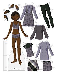 Paper Doll School: Tween Fashion Friday - Alexandra