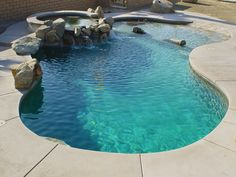One day I will have a beach entry pool