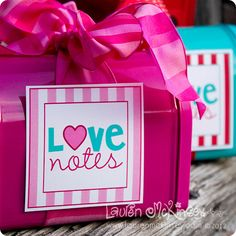 darling free Valentine's Day printable tag.  So glad I just bought these mail boxes to put them on!  Love it!