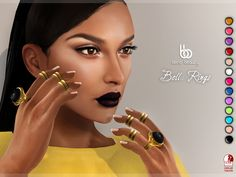 I'm intrigued but no demo. Second Life Marketplace - Bens Beauty - Bella Rings (All colors & Metal options)