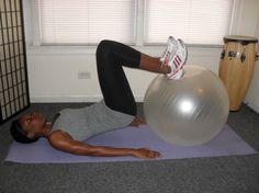 Hamstring Push and Pull - use this move to strengthen your hamstrings, glutes and core.